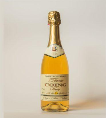Игристое айвовое вино «Товуз» типа шампанское