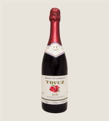 Гранатовое безалкогольное игристое вино «Товуз»