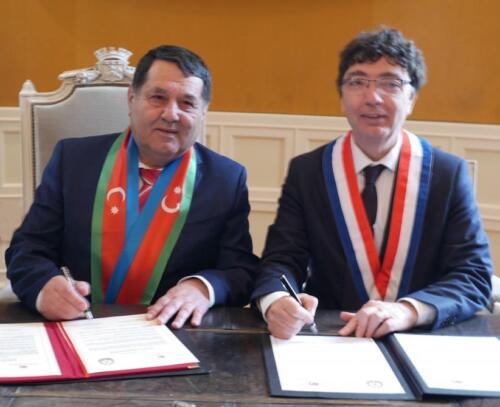 Tovuz in Azerbaijan, Cognac in France become sister cities